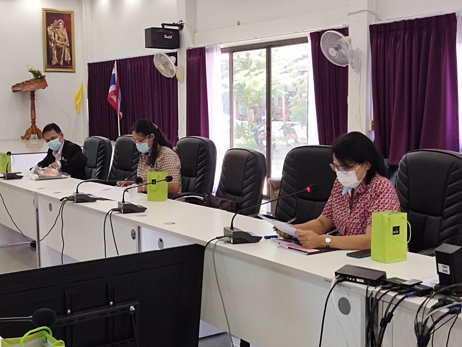 การประชุมวางแผนการนิเทศ ติดตาม การขับเคลื่อนโรงเรียนคุณภาพด้วยแผนการจัดการศึกษาของสถานศึกษาสู่การปฏิบัติจริง โรงเรียนในโครงการกองทุนการศึกษา จังหวัดเพชรบุรี